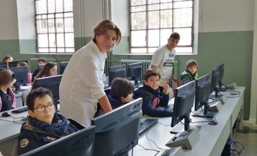 VOGHERA 21/01/2020: Scuola. Open day al Pertini. Successo della visita guidata agli spazi e ai servizi della scuola
