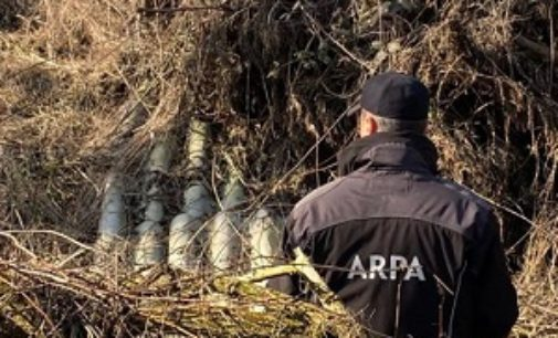 STRADELLA 13/02/2020: Illeciti ambientali. Eseguiti alcuni sequestri dentro un'area di 13.000 mq. Due gli indagati