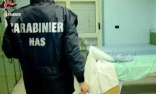 VILLANTERIO 13/02/2020: Nella casa di riposo una struttura sanitaria abusiva. Denunciato un 45enne