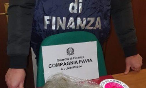 PAVIA 21/02/2020: Finanza arresta due genovesi e sequestra mezzo kg di marijuana
