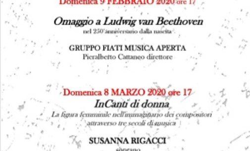 VOGHERA 04/02/2020: Da domenica i Pomeriggi musicali al Museo. Si parte con il concerto per Beethoven