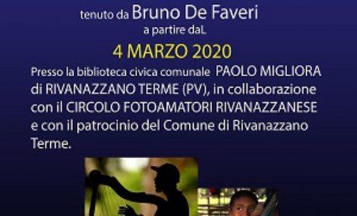 RIVANAZZANO 13/02/2020: Circolo Fotoamatori. Mostra Arturo Bruno alla Stazione. In Biblioteca il corso base di fotografia