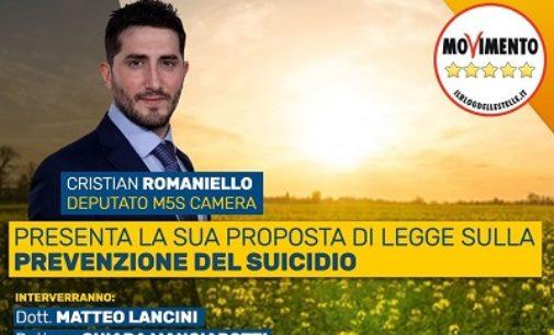 VOGHERA 03/02/2020: Suicidi. Il deputato Romaniello porta in Parlamento una proposta di legge per la prevenzione