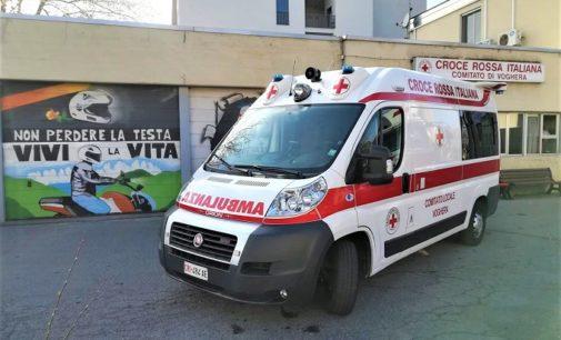 VOGHERA 21/03/2020: Alla Croce rossa una nuova ambulanza da una benefattrice