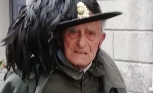STRADELLA CASTANA 13/03/2020: L'UNIRR festeggia i 100 anni del bersagliere Luigi Colombi