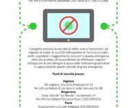 VOGHERA TORTONA 26/03/2020: Clown di Corsia. Cercansi tablet o cell usati per mettere in contatto i pazienti Covid con i familiari
