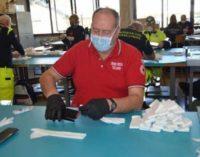 """VOGHERA 26/03/2020: Coronavirus. Anche la Cri di Voghera partecipa alla realizzazione delle mascherine. """"Servono volontari"""""""