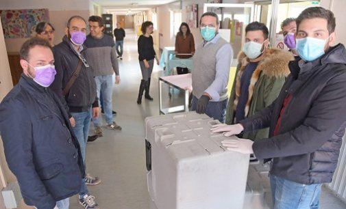 PAVIA 12/03/2020: Coronavirus. Ristoranti chiusi. 28 titolari per evitare sprechi alimentari offrono pasti caldi alle strutture dell'Asp
