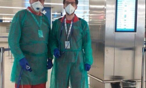 VOGHERA 03/03/2020: Coronavirus. Anche i Volontari della Cri cittadina in prima linea