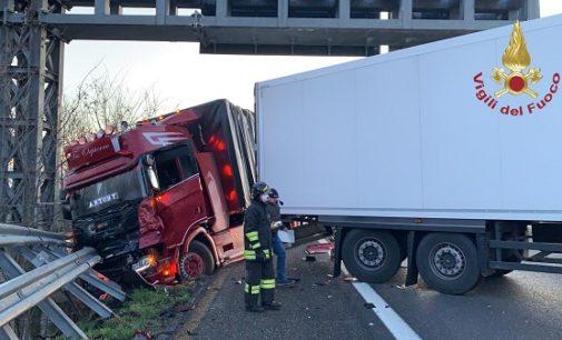 VOGHERA 04/03/2020: I soccorritori iriensi sul maxi incidente di questa mattina sulla A21