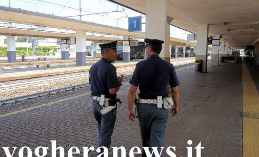 VOGHERA 08/04/2021: Scaglia un palo sui binari. La polizia ferroviaria denuncia un 38enne