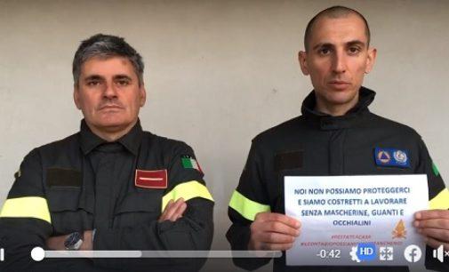 ITALIA 15/03/2020: Vigili del fuoco. L'appello al tempo del Coronavirus. Fateci lavorare in sicurezza (IL VDEO)