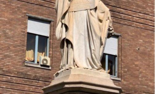 PAVIA 15/04/2020: Ringiovanita di 150 anni. La Statua d'Italia restituita alla Città dopo il restauro