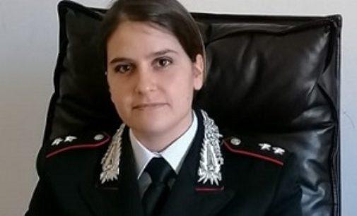 PAVIA 02/04/2020: Il Ten. Valeria Delponte è il nuovo comandante dei Carabinieri Forestali