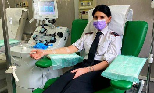 PAVIA 18/04/2020: Sono guariti dal Coronavirus. Ed ora donano tutti il Plasma per gli altri ricoveratidel San Matteo. Sono i carabinieri del Comando provinciale