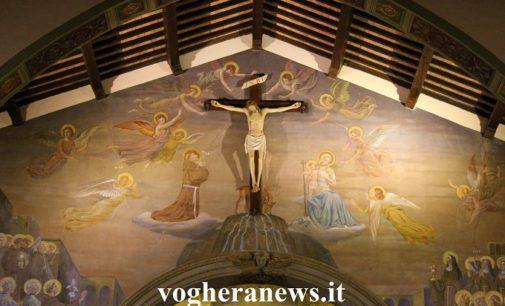 """VOGHERA 10/04/2020: La Pasqua in città. Oggi alle 16.30 e alle 18 le """"dirette"""" delle celebrazioni pasquali dal Santuario di Santa Maria delle Grazie"""