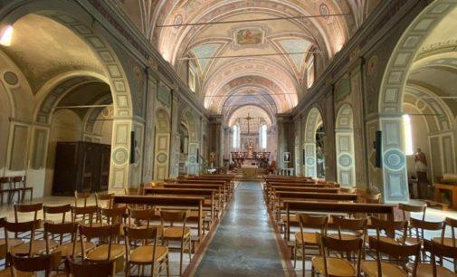 VOGHERA 02/05/2020: Le messe in diretta web. Domenica don Bruno Nobile in san Calocero celebra la funzione della Quarta Domenica di Pasqua