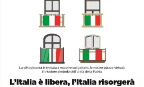 VOGHERA 24/04/2020: Festa della Liberazione. Domani bandiere alle finestre e cerimonia senza il pubblico