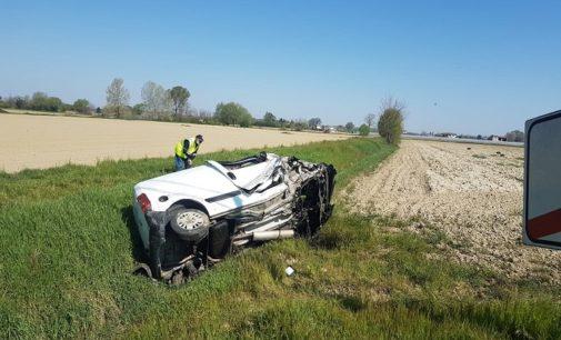 MEZZANINO 11/04/2020: Esce di strada con il furgone. Morto stamattina un residente del paese oltrepadano