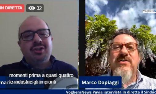 """CODEVILLA 27/04/2020: Intervistato in diretta web il sindaco Dapiaggi. """"Durante l'epidemia siamo riusciti a donare un uovo di Pasqua ai nostri 94 bambini sotto i 13 anni"""""""