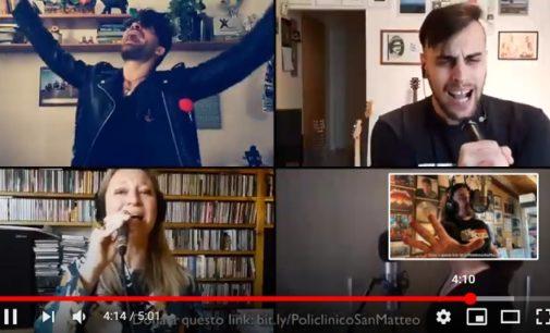 PAVIA VOGHERA 21/04/2020: Il video collage dei musicisti pavesi a sostengono della raccolta fondi in favore del Policlinico in lotta contro il Coronavirus