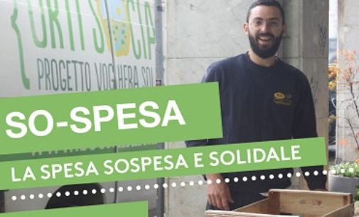 VOGHERA 09/04/2020: Coronavirus. Un aiuto ai più disagiati con la Spesa Sospesa(by Agricoltura sociale Pavia, Orti sociali e Cooperativa 381)