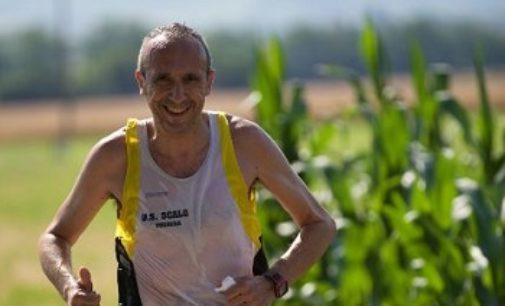 VOGHERA 16/04/2020: Salvatore Sanacuore. Uno degli atleti più presenti nell'Us Scalo