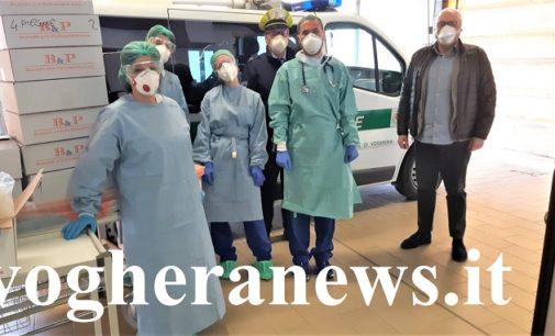 """VOGHERA 01/04/2020: Ancora donazioni in favore dell'Ospedale. Al Pronto Soccorso il """"carico di dolcezza"""" offerto dalla Polizia locale"""