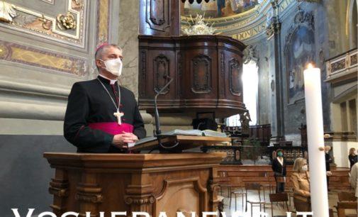"""VOGHERA 23/05/2020: Domenica alle 11.30 """"diretta web"""" della Messa dell'Ascensione con il Vescovo e le autorità"""