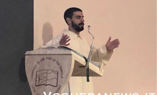 VOGHERA 24/05/2020: Oggi alle 10 la diretta web della prima Messa dell'Ascensione con la cerimonia dell'accolitato per il seminarista vogherese Lottari