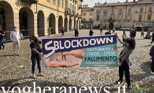 VOGHERA 04/05/2020: Coronavirus. Fase2 negata ai commercianti ed artigiani. Oggi il Fash Mob in piazza Duomo. FOTO E VIDEO