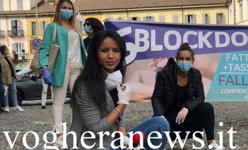 VOGHERA 04/05/2020: Flash mob sblockdodwn. Alle 17 l'intervista web agli organizzatori e all'assessora al Commercio