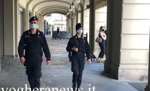 """VOGHERA 10/05/2020: Coronavirus. Carabinieri nelle strade per evitare l'effetto """"Navigli di Milano"""""""