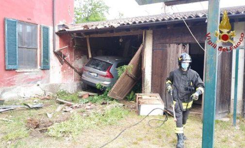 BEREGUARDO 15/05/2020: Morto il figlio di Giulia Maria Crespi. L'auto si schianta all'interno dell'azienda biodinamica