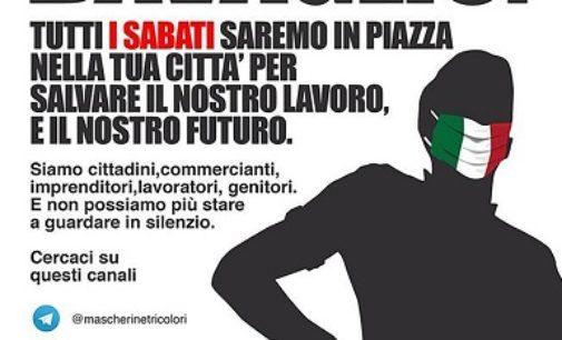 VOGHERA 22/05/2020: Mascherine tricolori sabato 23 maggio in piazza Duomo