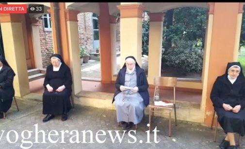 """VOGHERA 16/05/2020: Oggi la seconda """"diretta web"""" del Rosario delle suore Agostiniane. Collegamento alle ore 18 su Facebook"""