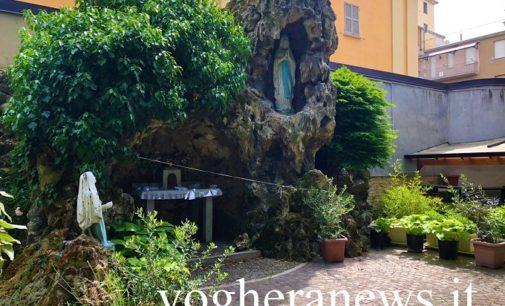 VOGHERA 09/05/2020: Coronavirus. Oggi la prima diretta web delle suore Agostiniane. Alle 18 il rosario dalla Grotta della Madonnina