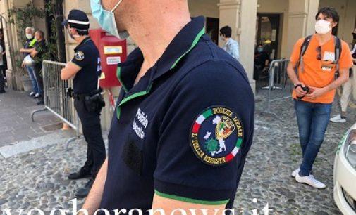 VOGHERA 25/05/2020: Colletta della Polizia locale nazionale a favore della Protezione Civile. Voghera c'è
