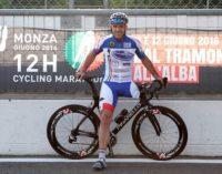 VOGHERA 24/06/2020: Tappa in città per la nuova impresa del Campione Paralimpico Andrea Devicenzi