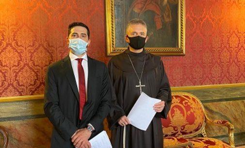VOGHERA 15/06/2020: Legge sulla prevenzione del suicidio. Il parlamentare Romaniello incontra il Vescovo