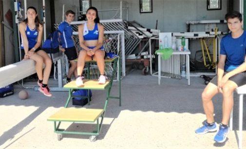 VOGHERA 29/06/2020:  Grandi prestazioni dopo il lockdown. Gli atleti dell'Iriense hanno ripreso gli allenamenti