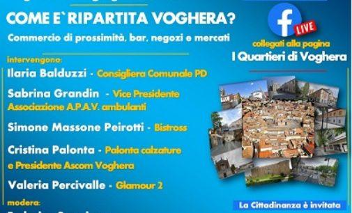 """VOGHERA 25/06/2020: Facebook. """"I Quartieri di Voghera"""" discutono: """"Come è ripartita Voghera?"""""""