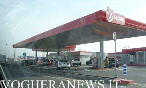 MONTEBELLO VOGHERA 22/06/2020: Ruspe per abbattere le colonnine del distributore di benzina. Colpo da 50mila euro