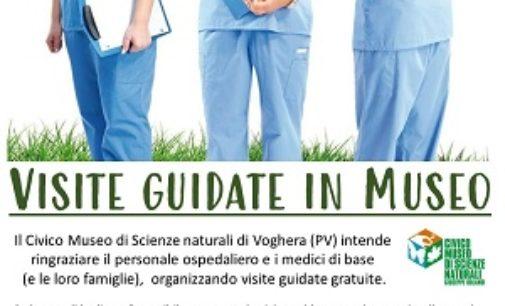 VOGHERA 24/06/2020: Sanitari e personale ospedaliero entrano gratis. Così il Museo di Scienze li ringrazia per il lavoro fatto contro il coronavirus