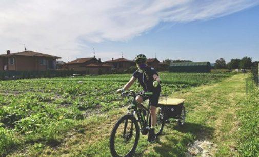 VOGHERA 01/06/2020: Sulla Ciclovia dei Malaspina per consegnare in bici i prodotti degli Orti Sociali