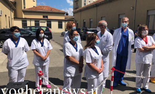"""VOGHERA 19/06/2020: Un ventilatore polmonare in dono all'ospedale per tornare alla normalità dopo il Coronavirus. Gallera. """"Da noi c'è stato il cratere della bomba"""""""