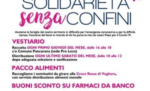 """OLTREPO 11/06/2020: Solidarietà. Al via gli aiuti per i poveri """"post"""" Coronavirus di Lungavilla Porana Pizzale Pancarana Cervesina Verretto"""
