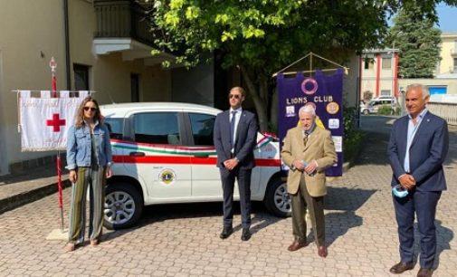 VOGHERA 28/07/2020: Il Lions club dona una Panda alla Croce Rossa
