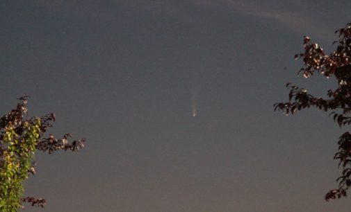 RONCARO 10/07/2020: La Cometa Neowise fotografata dall'Associazione Astronomica Pavese