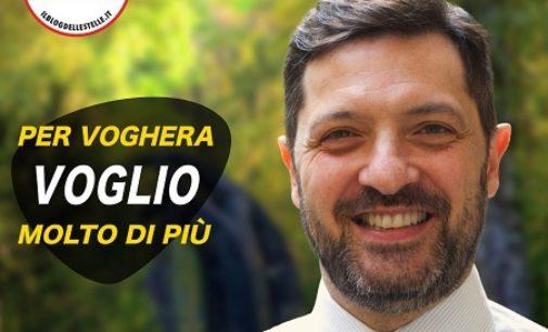 """VOGHERA 19/07/2020: Elezioni. Antonio Marfi (M5S) si candida a Sindaco. """"Per Voghera voglio molto di più"""" il suo slogan"""